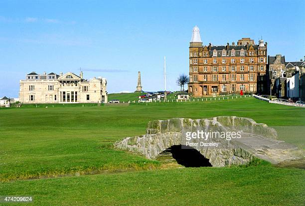 A view from the 18th Fairway at the St Andrews Golf Course on July 1987 in St AndrewsScotland