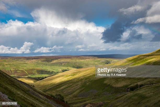 View from the Buttertubs Pass, North Yorkshire, England