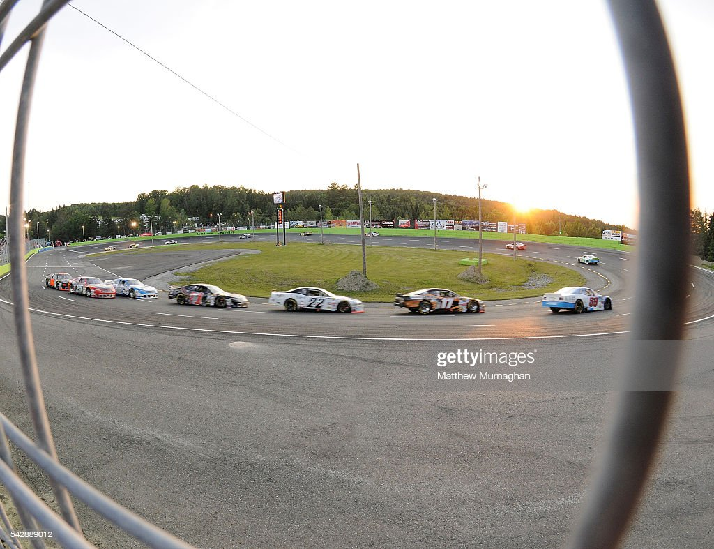 View from the corner of turn one at the CRS Express 300 at Autodrome Chaudiere on June 24, 2016 in Vallee-Jonction, Quebec, Canada.
