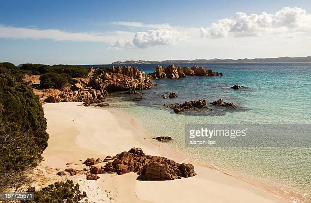 Blick von der Insel Budelli, Sardinien