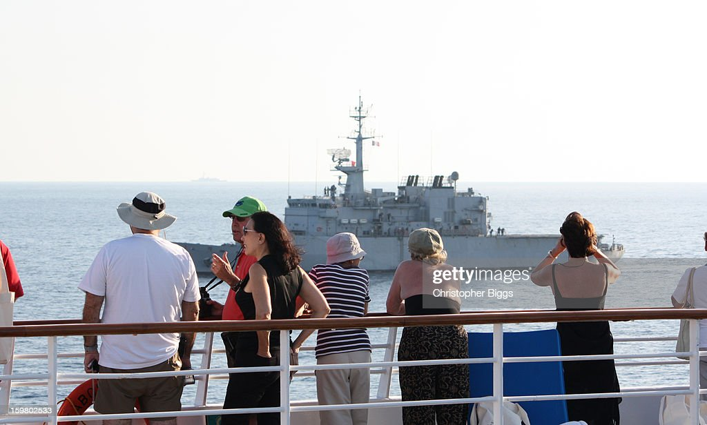 CONTENT] View from the luxury cruise ship Seabourn Spirit to the French Navy Floreal Class small patrol frigate F732 named The Nivose.
