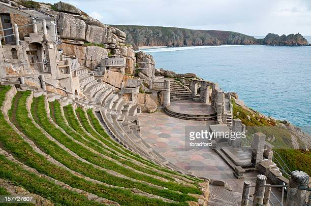 View From The Minack Theatre In Cornwall, England