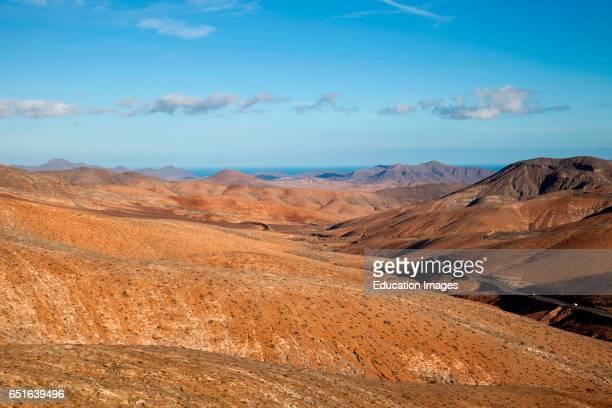 View From The Mirador Astronomico De Sicasumbre Fuerteventura Canarie