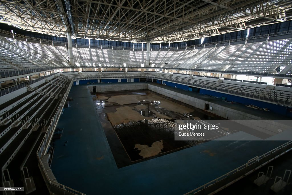 A View From The Mostly Abandoned Olympic Aquatics Stadium At Park On May 20