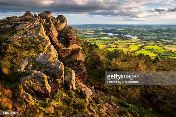 View from the Roaches, Staffordshire