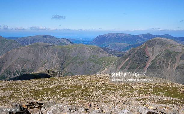 View from the Scafell Pike