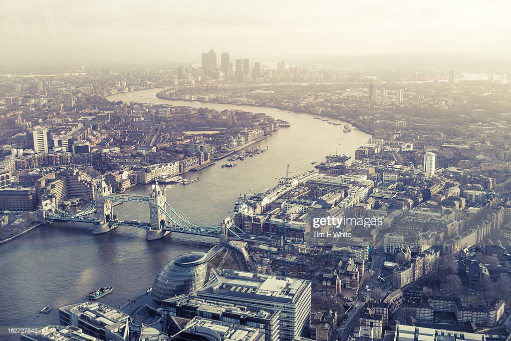 View from the Shard, London, UK : Stock Photo