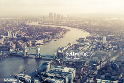 View from the Shard, London, UK
