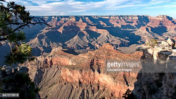 View from the South Rim Grand Canyon Arizona