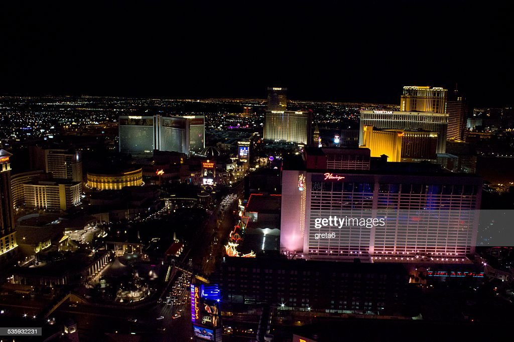 View from the top of Las Vegas : Stock Photo