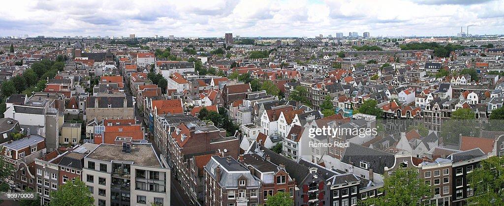 View from the Westerkerk - panorama 2