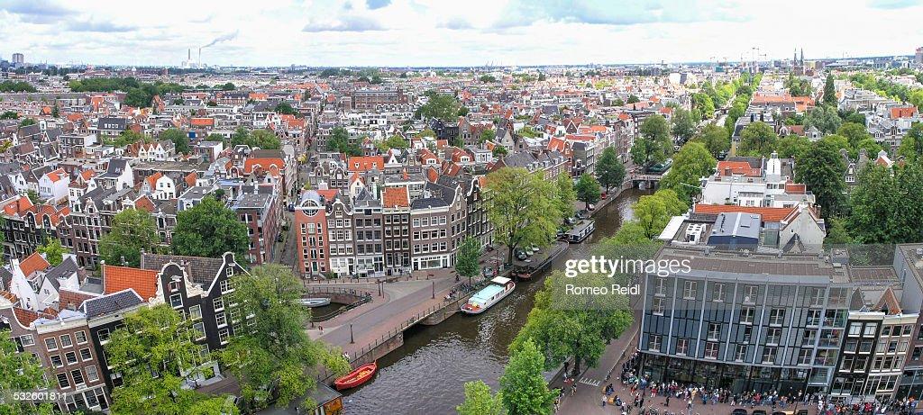 View from the Westerkerk - panorama 3