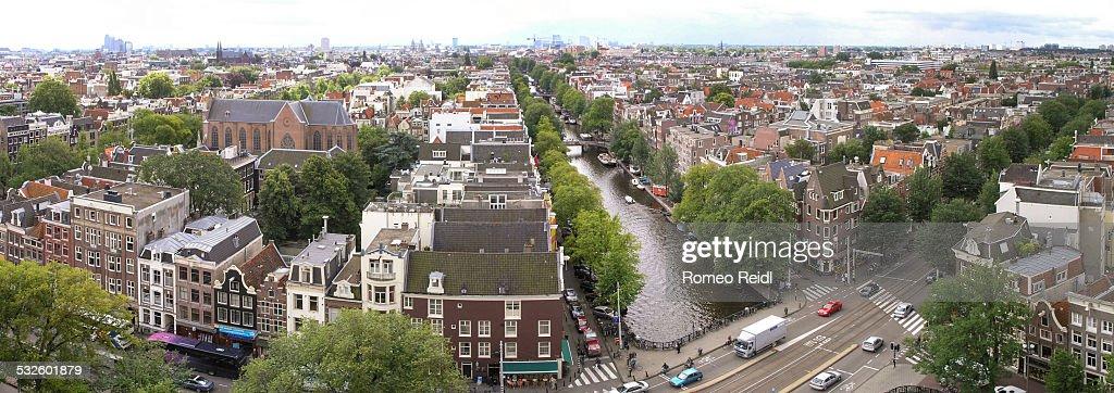 View from the Westerkerk - panorama 5