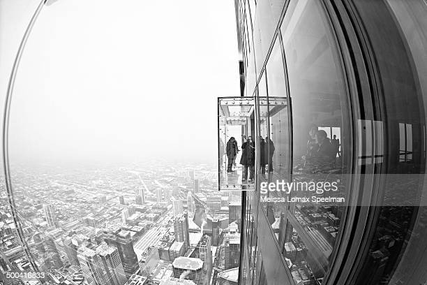 View from the Willis Tower Skydeck