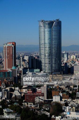 View From Tokyo Tower Minato Ward Tokyo Prefecture Honshu Japan Stock Photo ...