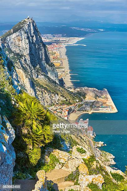 View from Top of Rock of Gibraltar