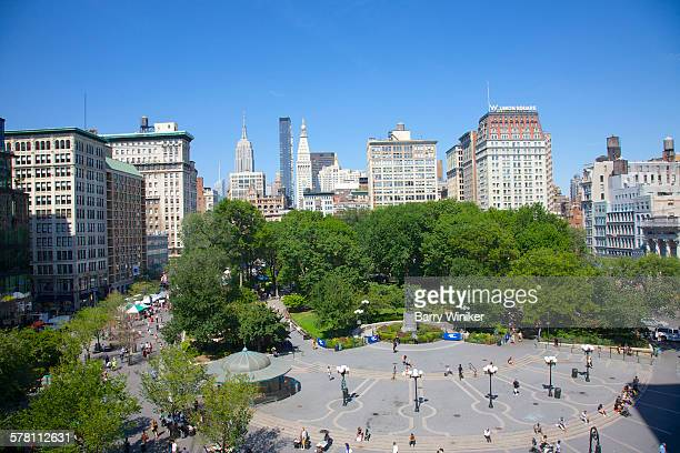 Union square new york city stock photos and pictures for Flowers union square nyc