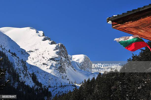 View from Yavorov hut, Pirin mountain, Bulgaria