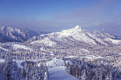 View from Yokoteyama in winter