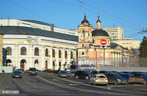 View Gostiny Dvor and  Temple of  Great Martyr Varvara : Photo
