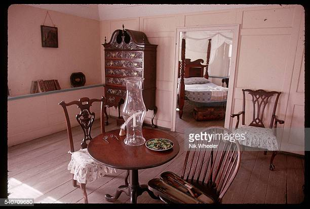 A view inside the Oldest House known to be the oldest house in the United States of America built during the early 1700s at St Augustine Florida