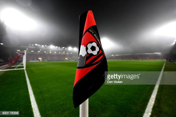 A view inside the stadium prior to the Premier League match between AFC Bournemouth and Crystal Palace at Vitality Stadium on January 31 2017 in...