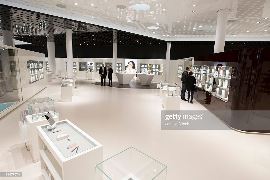 A view inside the Swarovskishop at the Swarovski Crystal Worls during grand reopening on April 28 2015 in Wattens Austria The Crystal Worlds was...