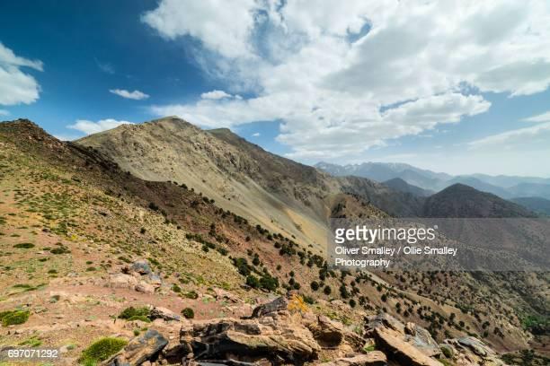 View into the High Atlas - Oukaimeden, Morocco