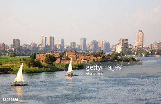 view nile river at cairo