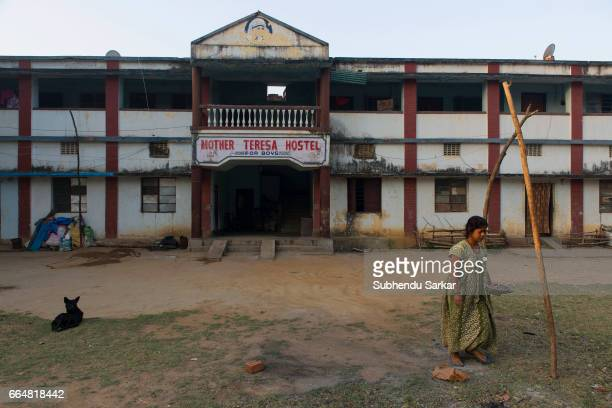 MCCLUSKIEGUNJ RANCHI JHARKHAND INDIA A view of a bungalow that once belonged to an AngloIndian family has now been converted to a hostel...