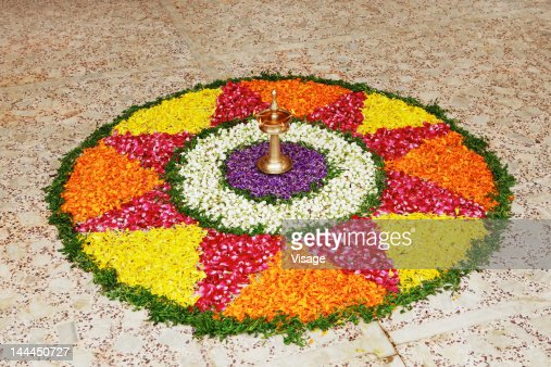 Floral Decoration view of a floral decoration stock photo | getty images