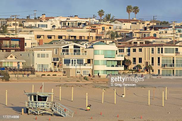 A view of a local community near the beach