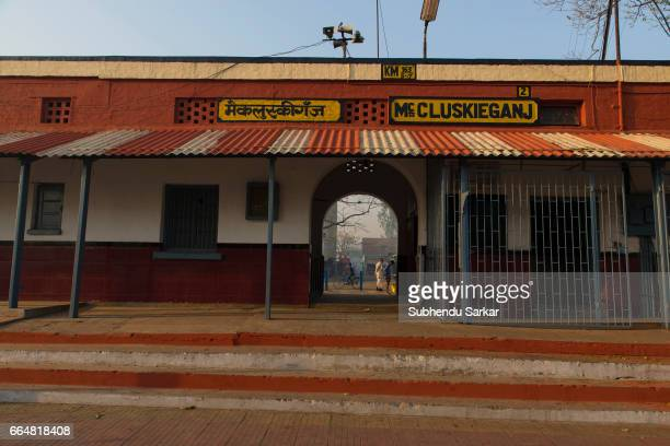 MCCLUSKIEGUNJ RANCHI JHARKHAND INDIA A view of a McCluskiegunj railway station McCluskiegunj is a town founded by Ernst Timothy McCluskie a...