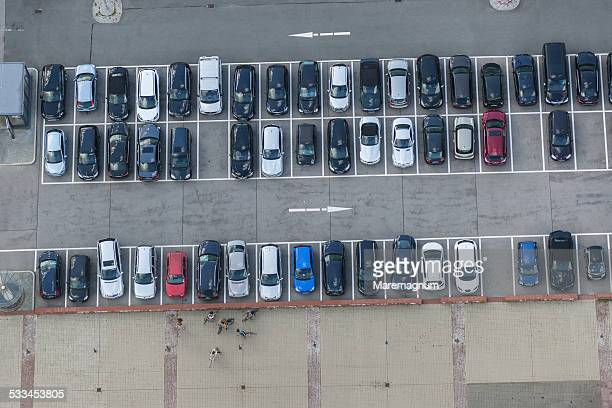 View of a parking