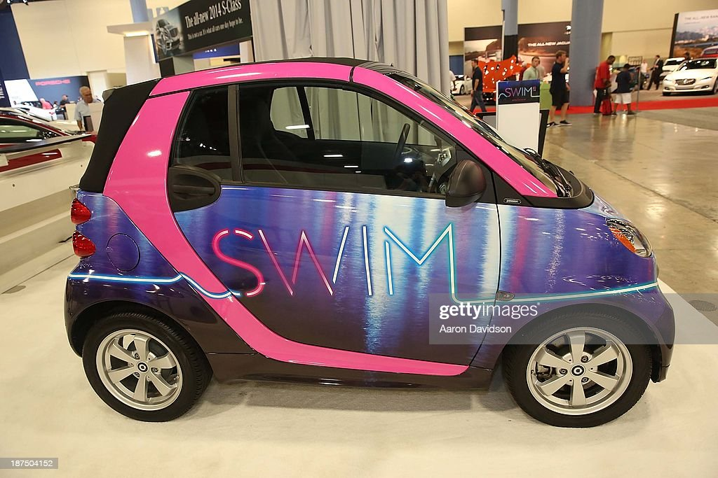 A view of a Smart Car at Miami International Auto Show at the Miami Beach Convention Center on November 9, 2013 in Miami Beach, Florida.