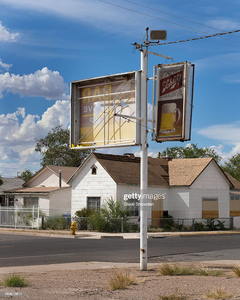 A view of a street corner on September 1, 2013 in Albuquerque, New Mexico. This location was used by drug dealers in several 'Breaking Bad' episodes.