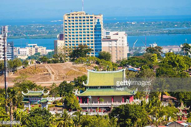 View of a Taoist temple in Cebu, Philippines