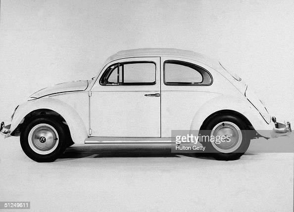 View of a Volkswagen Beetle 1960s