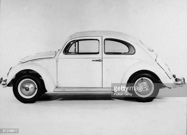 View of a Volkswagen Beetle 1960s