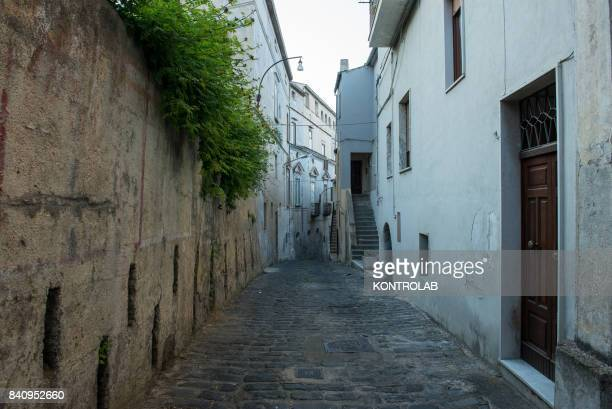 A view of a way in historic center of Cassano allo Ionio in Calabria southern Italy