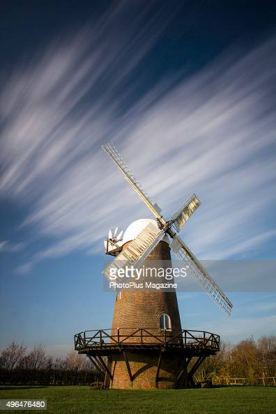 View of a windmill near the village of Wilton in Wiltshire taken on November 29 2014