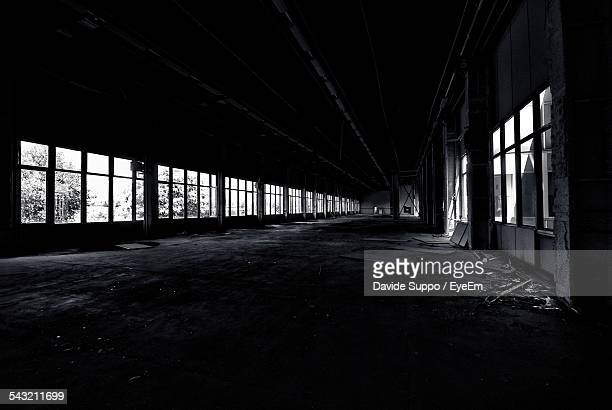 View Of Abandoned Warehouse