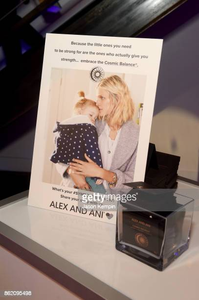 A view of Alex and Ani at VH1 Save The Music 20th Anniversary Gala at SIR Stage37 on October 16 2017 in New York City