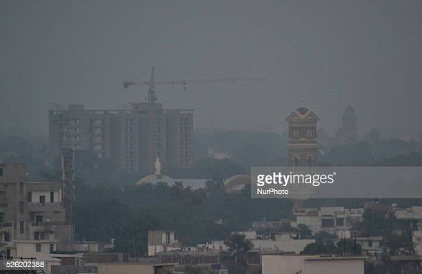 A view of Allahabad on December 122015Of the worlds top 20 polluted cities 13 are in India compared to just three in China Air pollution slashes life...