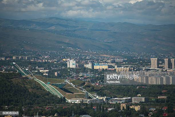 View of Almaty city from Kok-Tobe