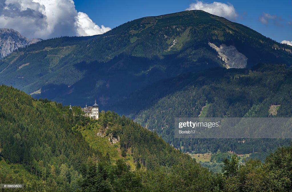 view of Alps mountain, Styria, Austria : Stock Photo