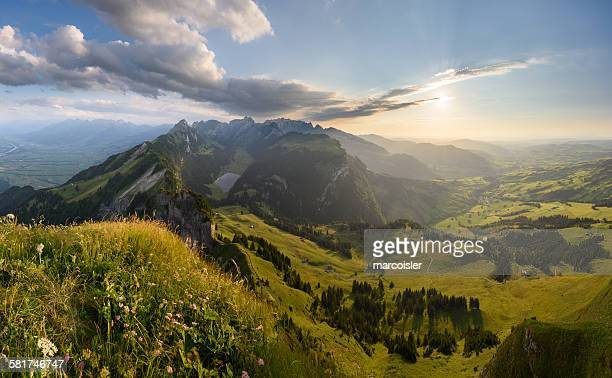 View of Alpstein, Switzerland