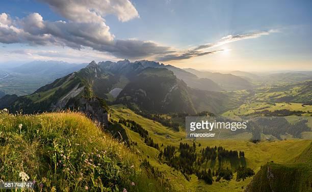 View of Alpstein, Switzerland