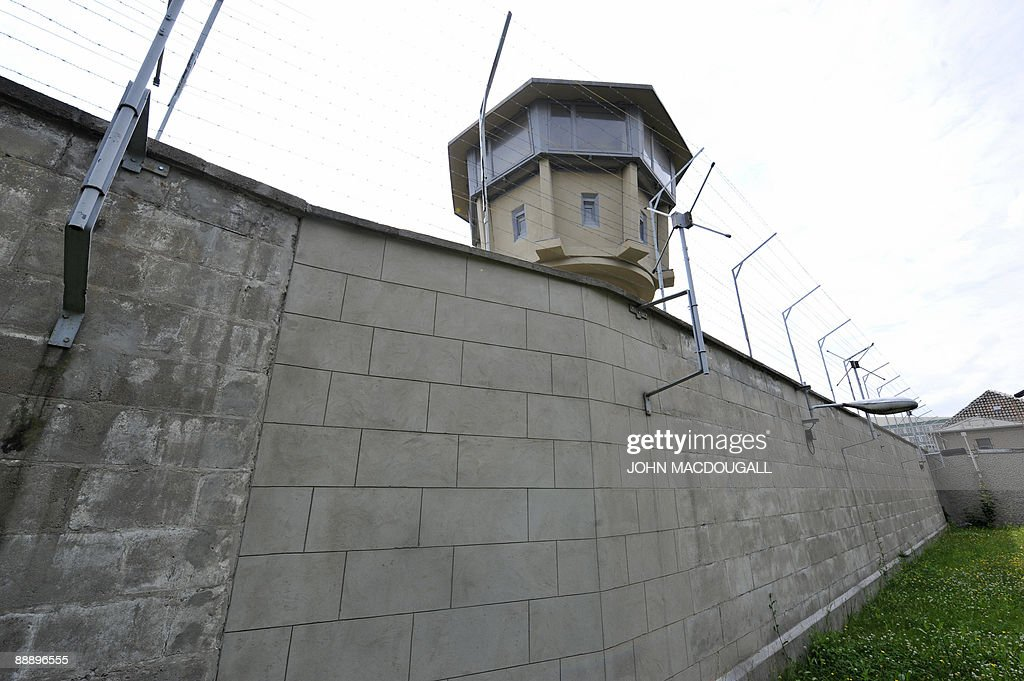 ... View Of An Outer Wall And An Observation Pictures Getty For Outer Wall  Design Architecture ...