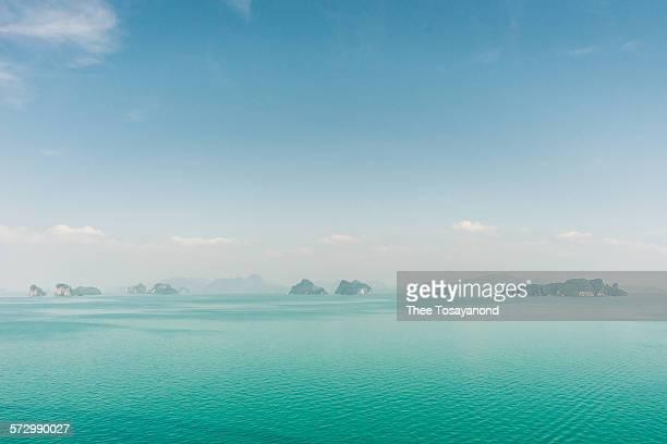 View of Andaman sea islands